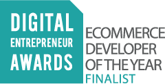 Digital Entrepeneur Awards eCommerce Developer of the Year Finalist
